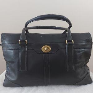 Coach xl Hampton Business Saddle Leather Tote